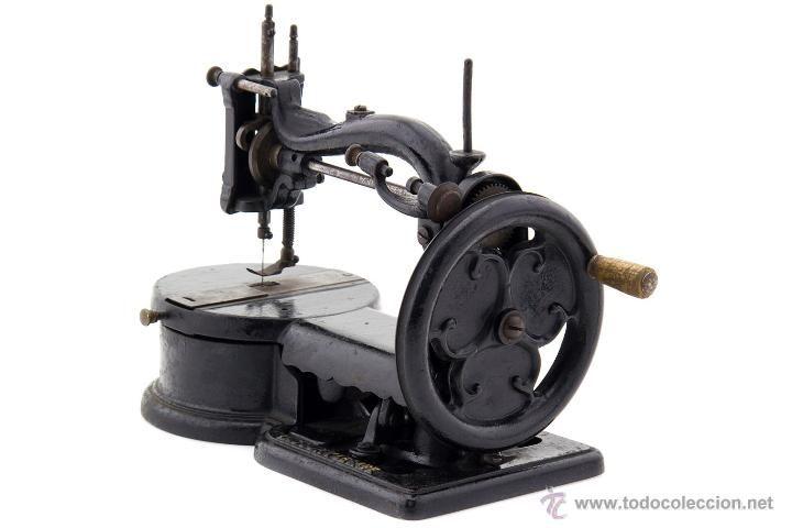 Máquina de coser Lacour y Lesage siglo XIX - Foto 1