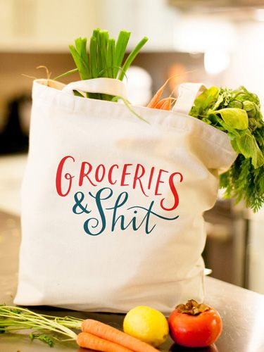 Tote Bags With Quotes Reusable Funny And Smart Sayings Good Housekeeping