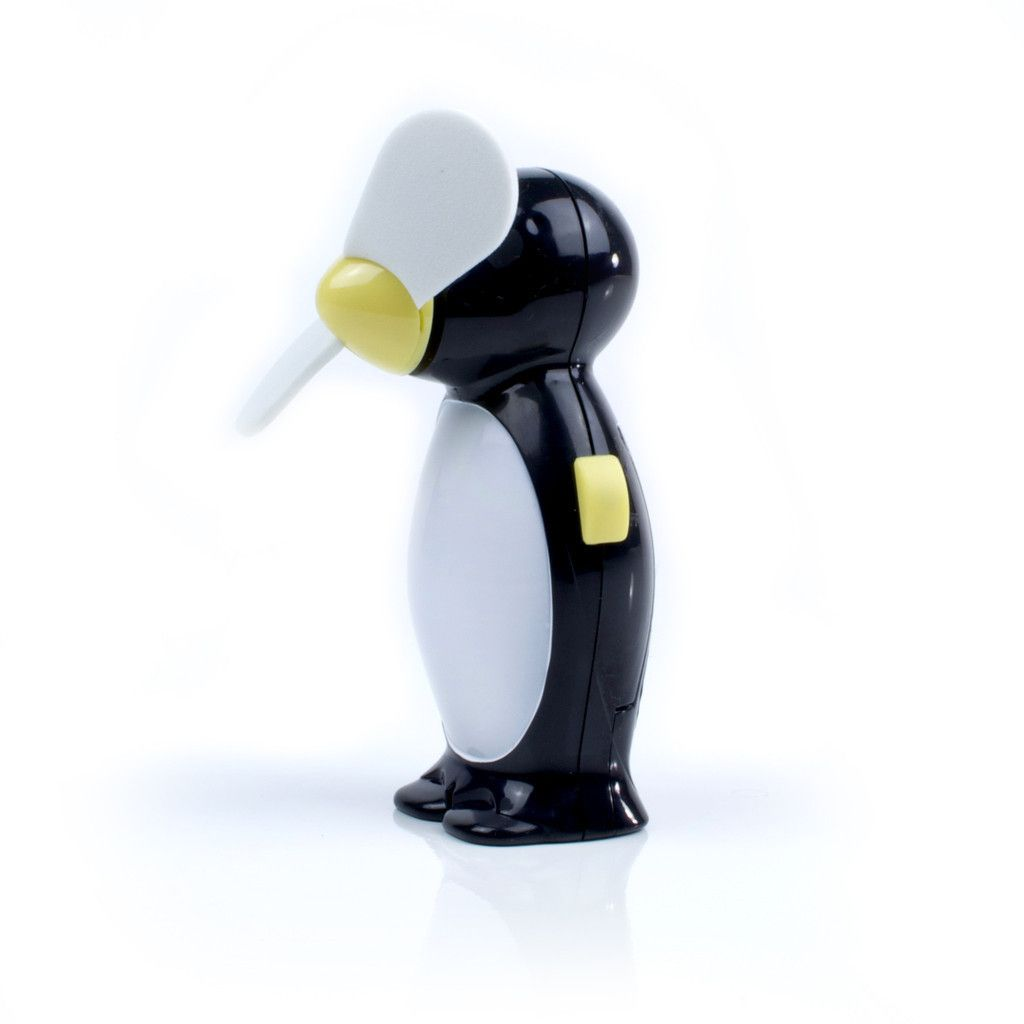 TC Chill Out Penguin Fan. Campers will stay cool during hot summer days and nights with this high-quality and whimsical fan.