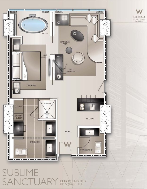 Typical w hotel guestroom plans google search piltown for Hotel design layout
