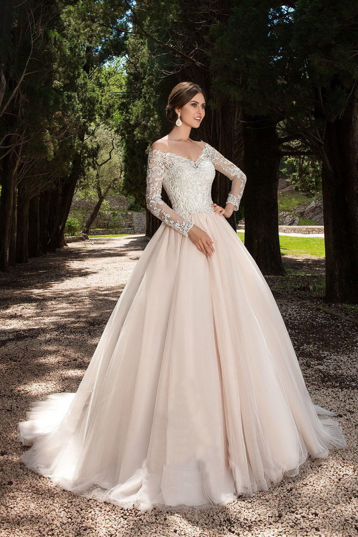 nice Красивые свадебные платья (50 фото) — Модные ...