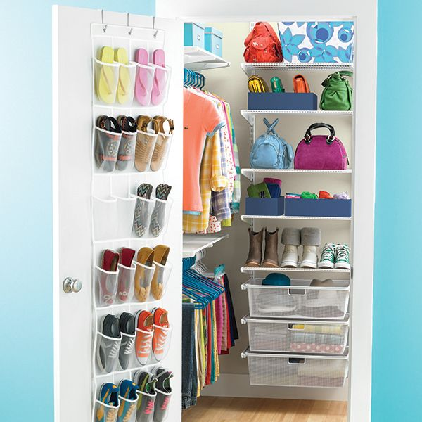 Organizing Solutions For The Closet Less Lady Deep Closet