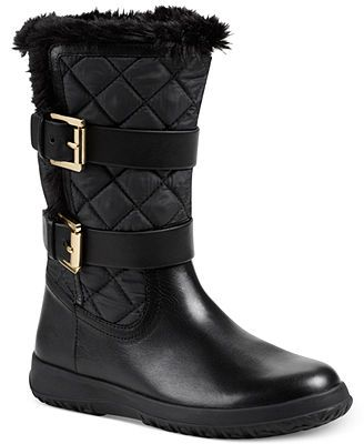 Michael kors boots, Faux fur boots