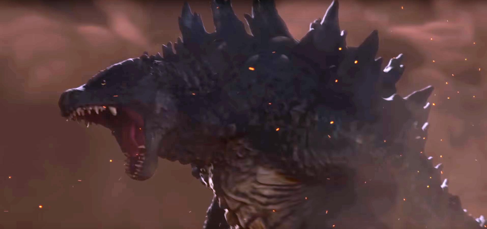 Godzilla 2014 form Godzilla The Game (2014) Dorsal