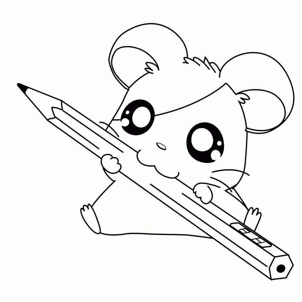 Desenhos Kawaii Para Colorir 34 Dibujo En 2019 Animales Animados