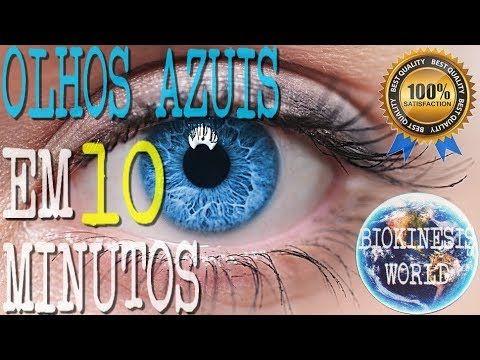 Como Mudar A Cor Dos Olhos Em 10min Biokinesis Olhos Azuis
