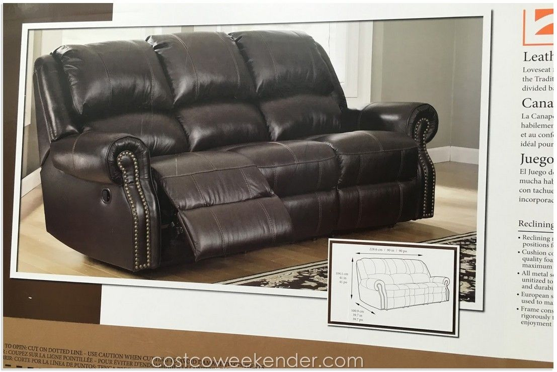 Beautiful Berkline Leather Reclining Sofa Costco In 2020