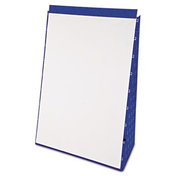 Tabletop Flip Chart Easel, Unruled, 20 X 28, White, 20 Sheets