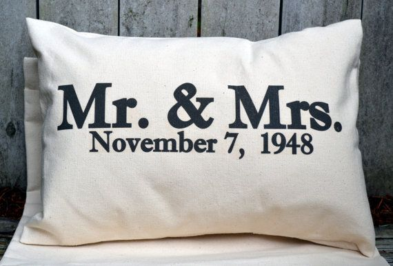 Personalized Pillow Christmas Gift Wedding Pillow Christmas Etsy Anniversary Pillow Personalized Pillows Personalized Wedding Pillow