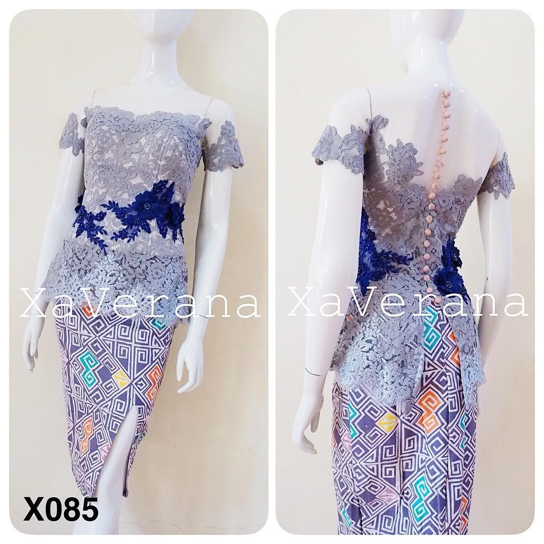 Kebaya Bustier Harga 619 000 Kebaya Aja Bahan Brokat Fatmawati Dutches Bridal Tille Aplikasi Bunga Bo Model Baju Wanita Baju Atasan Wanita Desain Busana