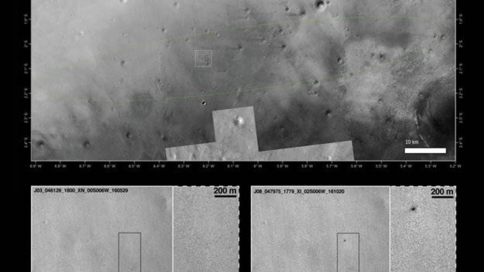 RIP Schiaparelli: nuevas imágenes confirman que se estrelló contra Marte