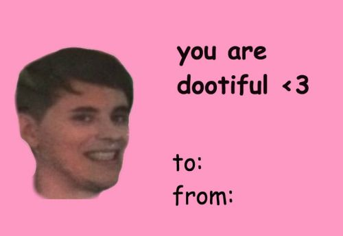 valentines day card meme Tumblr Dan Howell – Internet Valentines Cards