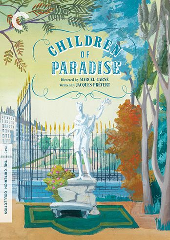 Children of Paradise (1945) - No. 141 [Reissue; cover based on an original set design painting by Alexandre Trauner]