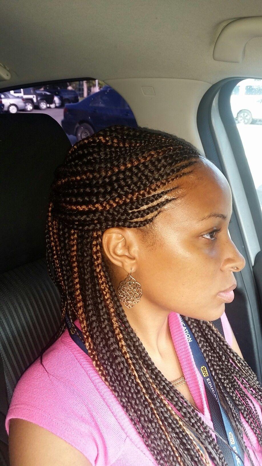 braids cornrows highlights hairstyles
