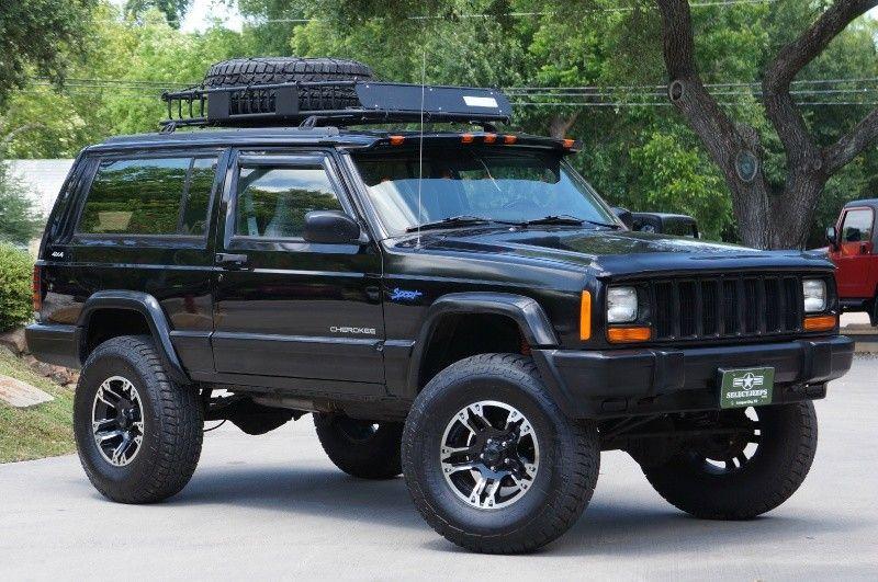 1998 2 Door Black Jeep Cherokee 4wd 12995 Jeep Cherokee Jeep Suv Jeep Xj