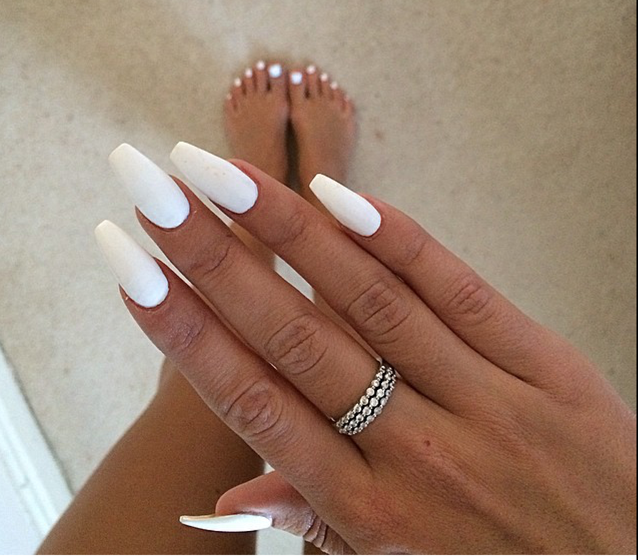 Discover Ideas About White Summer Nails