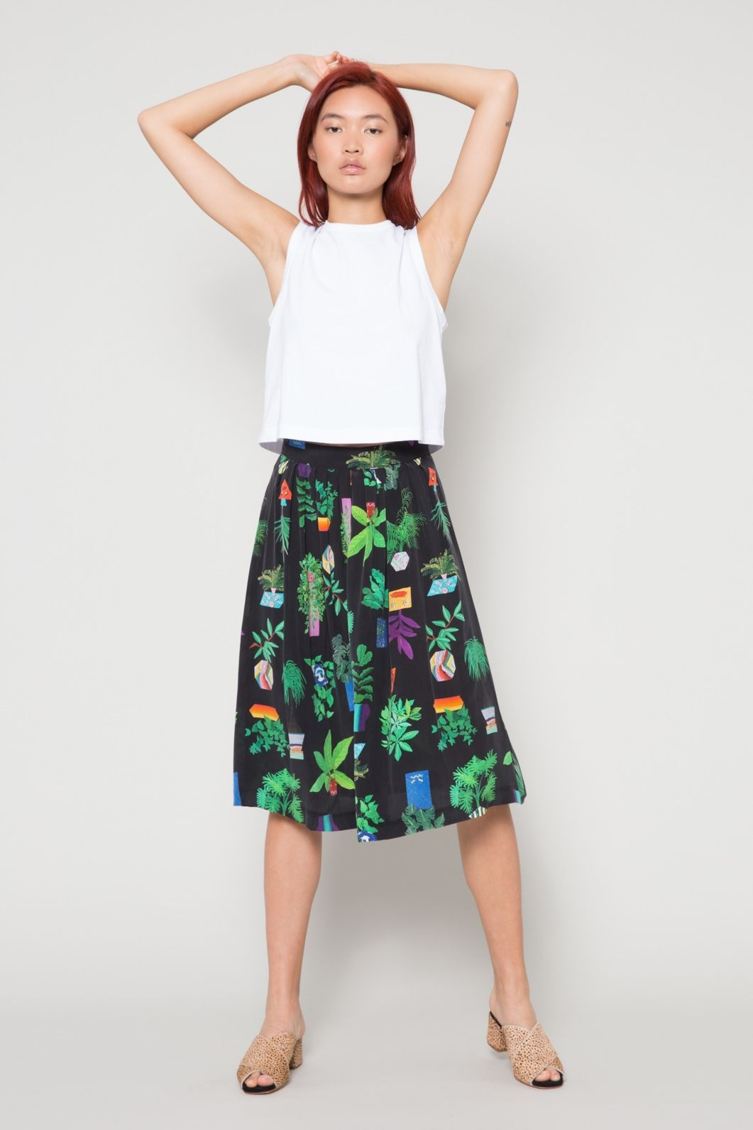 cc7116f17978 Secret Life of Plants Skirt - Gorman SS18