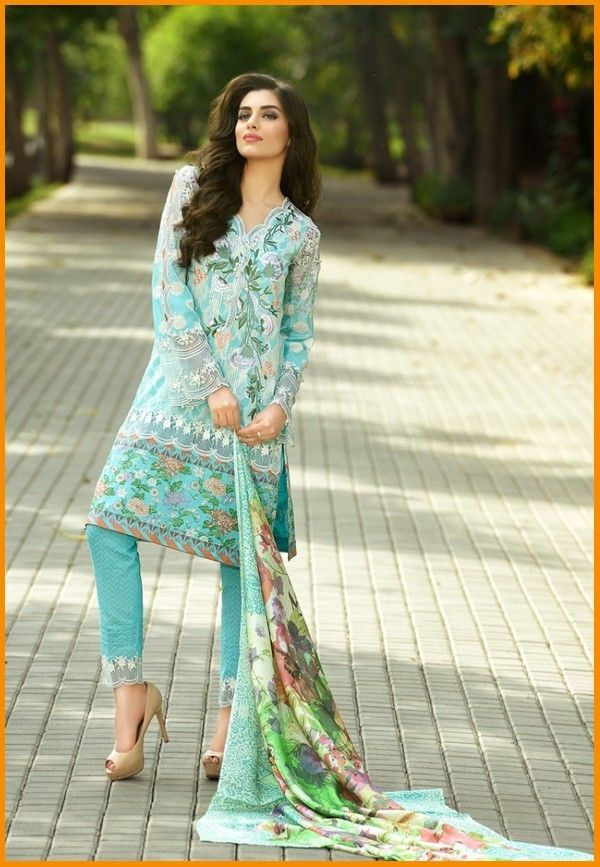 Firdous Embroidered Summer    #Firdous #LawnCollection #Embroidered