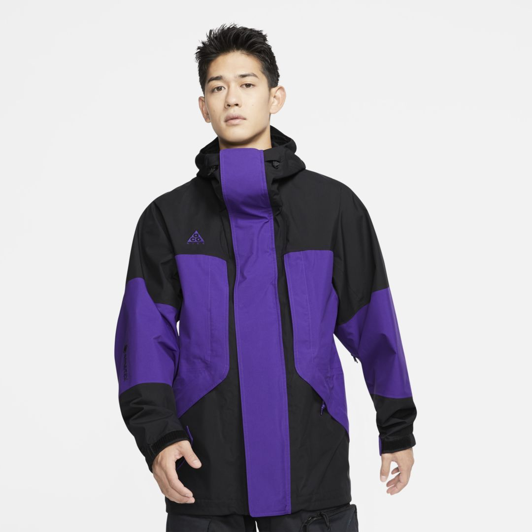 Nike ACG GORE-TEX Men's Hooded Jacket. Nike.com #nikeclothes