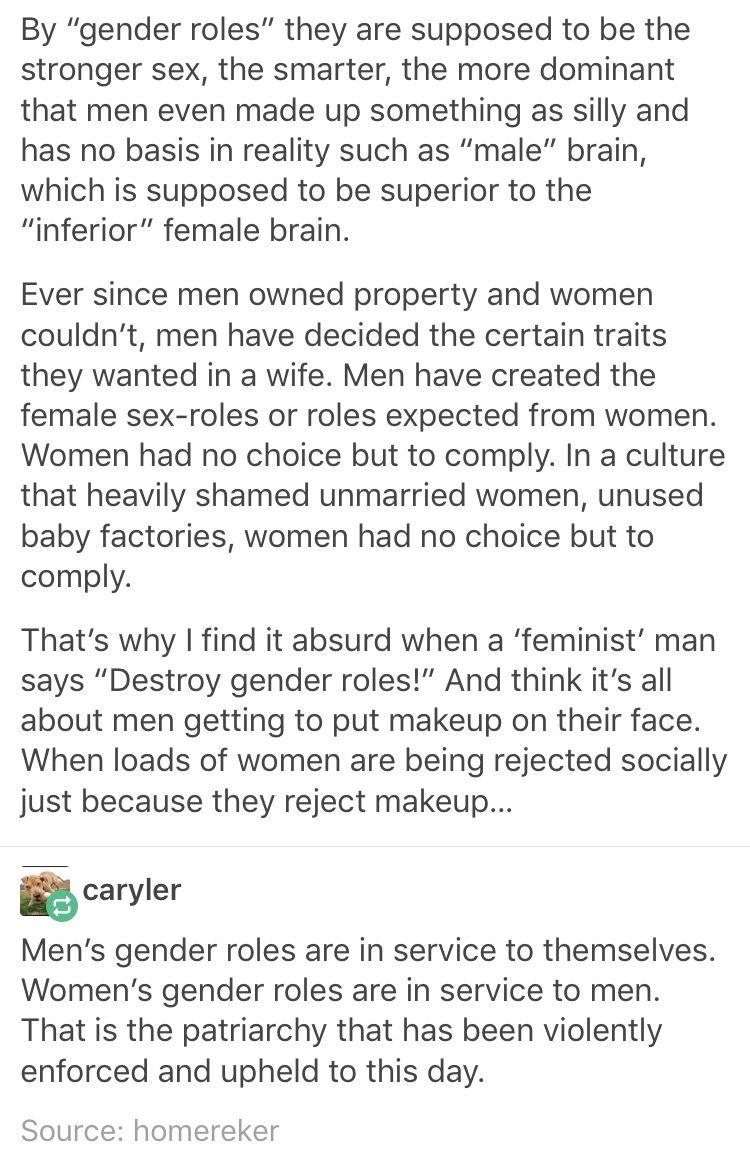 gender roles femme libert eacute perspective the o jays gender roles