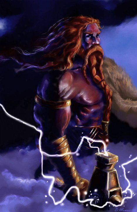 Thor - Norse God of Protection (for both Gods and People)
