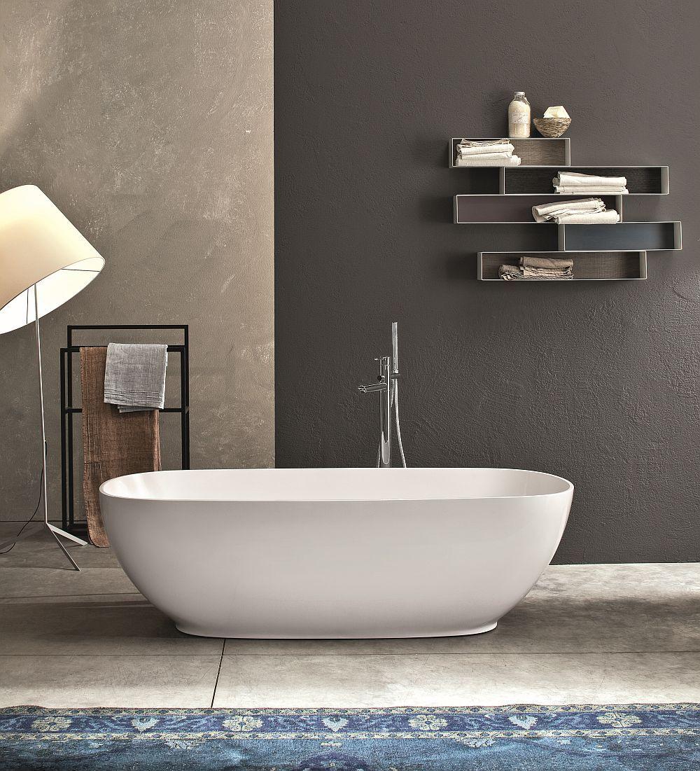 Ingenious Italian-Style Furnishings For The Posh Spa-Like Bathroom ...