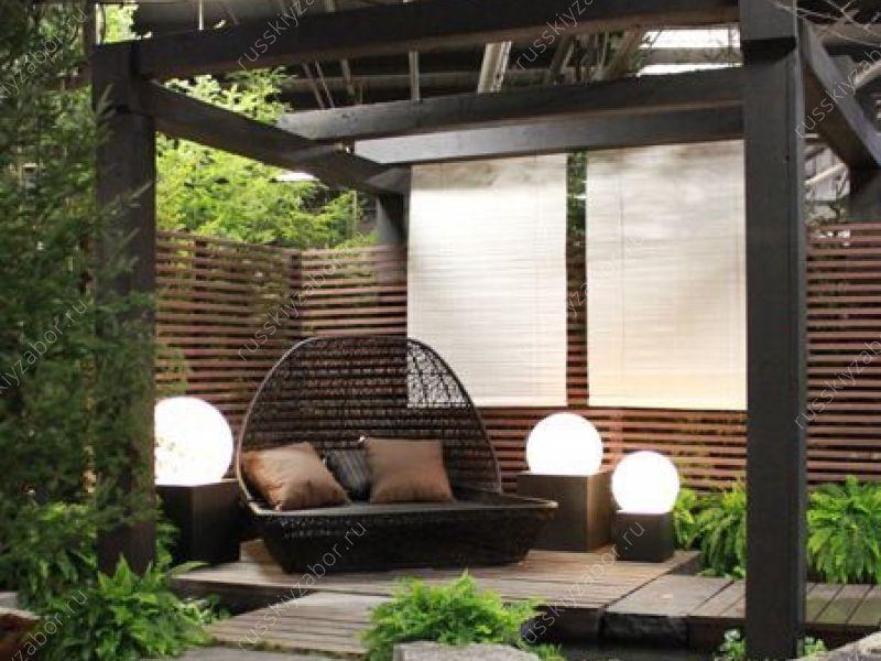 Красивые заборы для загородного/частного дома ...