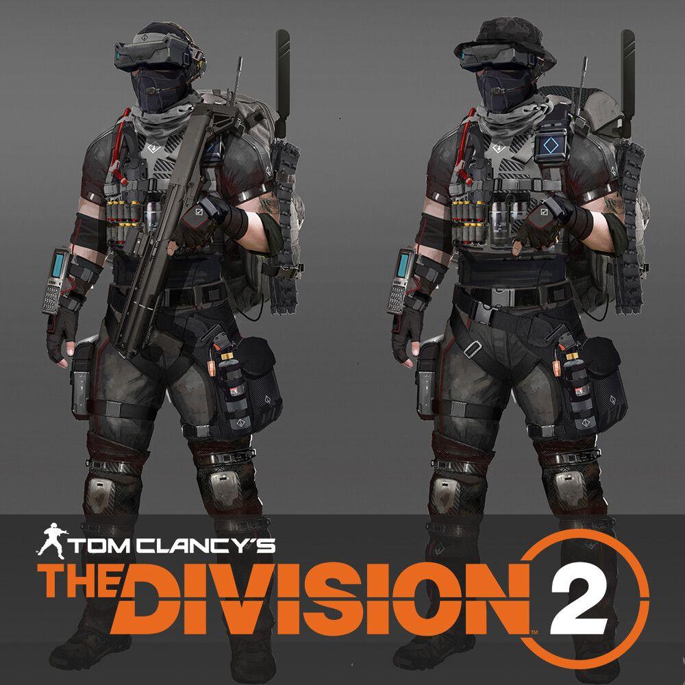 Division 2 Black Tusk Controller Concept Stuart Ellis On Artstation At Https Www Artstation Com Artwork 6aze Division Division Games Tom Clancy The Division