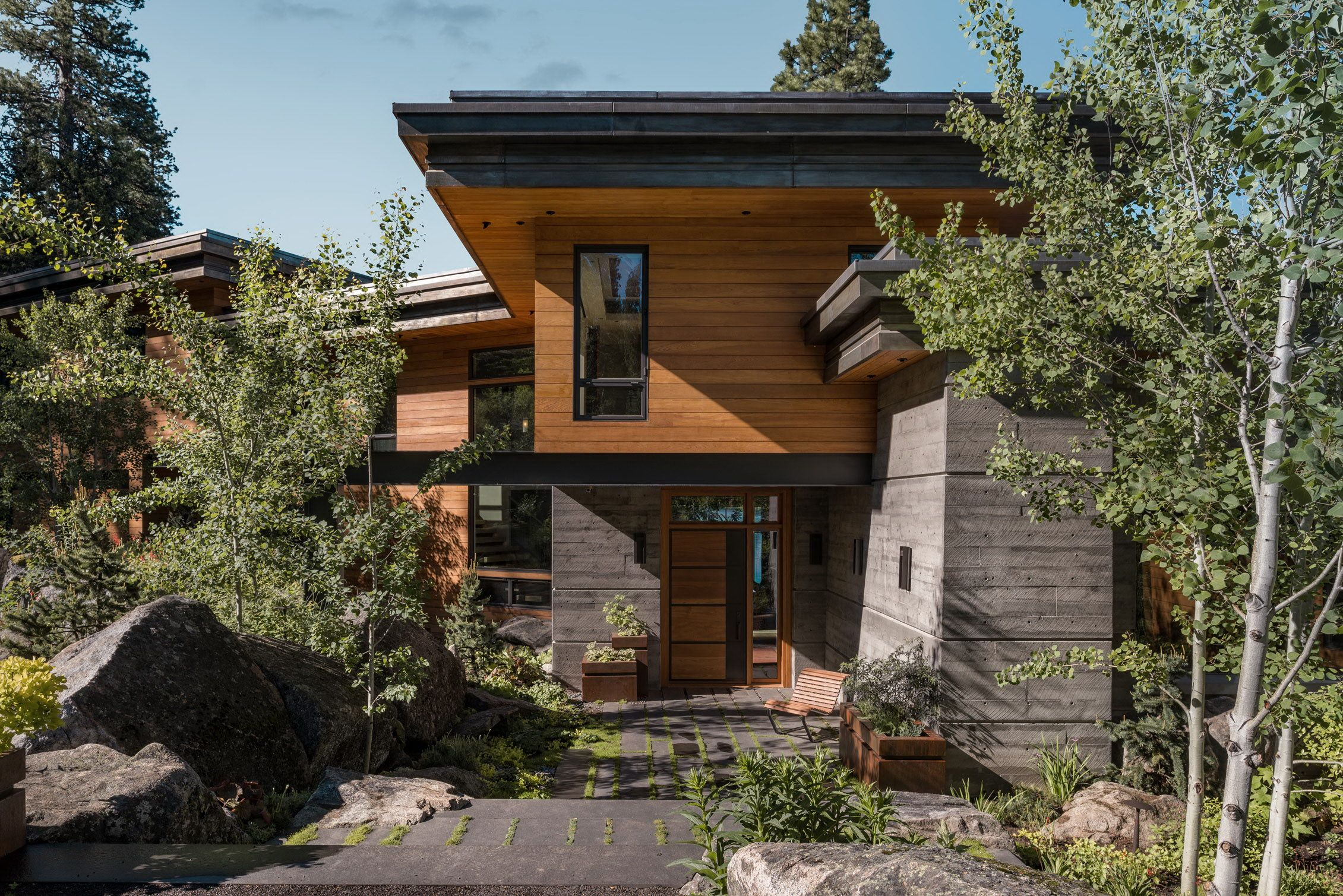 Modern Cliff House By Mccall Design And Planning Dom Domashnyaya