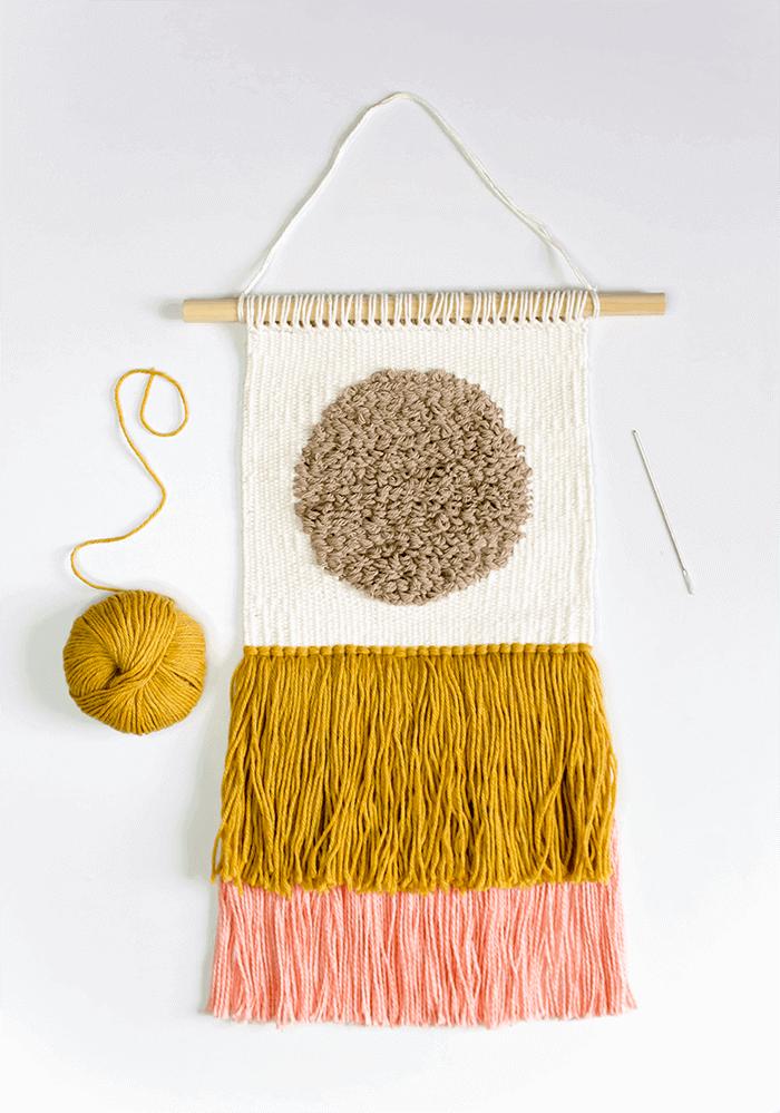 10 Best Weaving Tutorials from A Pretty Fix - A Pretty Fix #weaving
