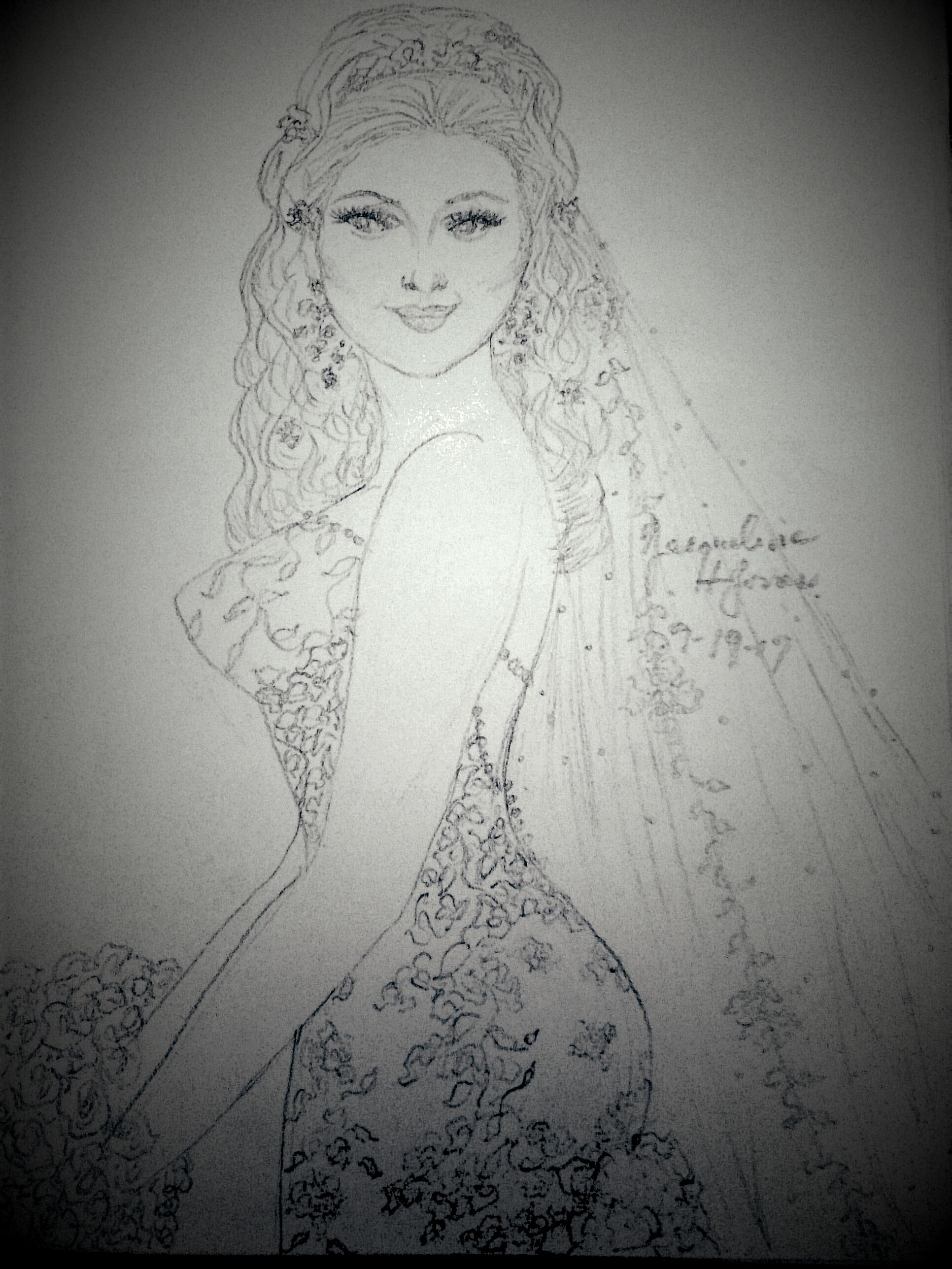 Pin by jacqueline jones on my bridal sketches of my designs