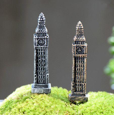 2 pcs Resin Mini Motorcycle Miniature House Fairy Garden Micro Landscape/_G
