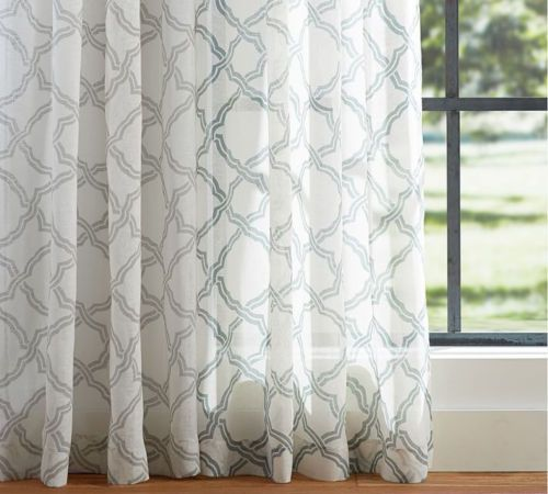 in darkening gray curtains dark trellis upholstery drapes color grey geometric room single inch curtain pair window pattern lush charcoal grommet top fabric white panel