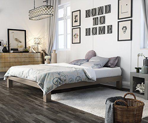 Platform Bed with Storage Tutorial   Metal platform bed, Bed frames ...