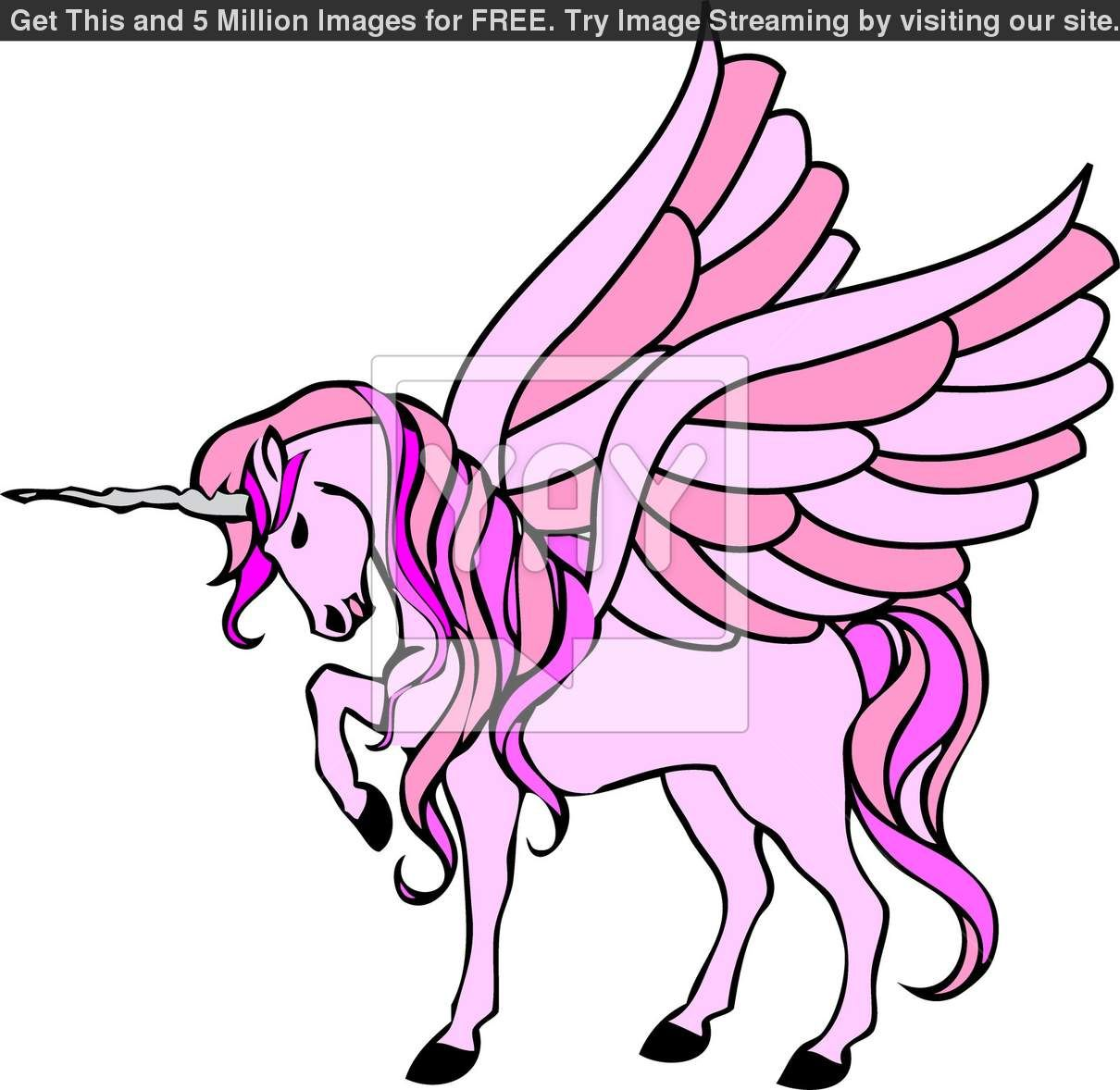 Unicorn realistic. Clipart at getdrawings com