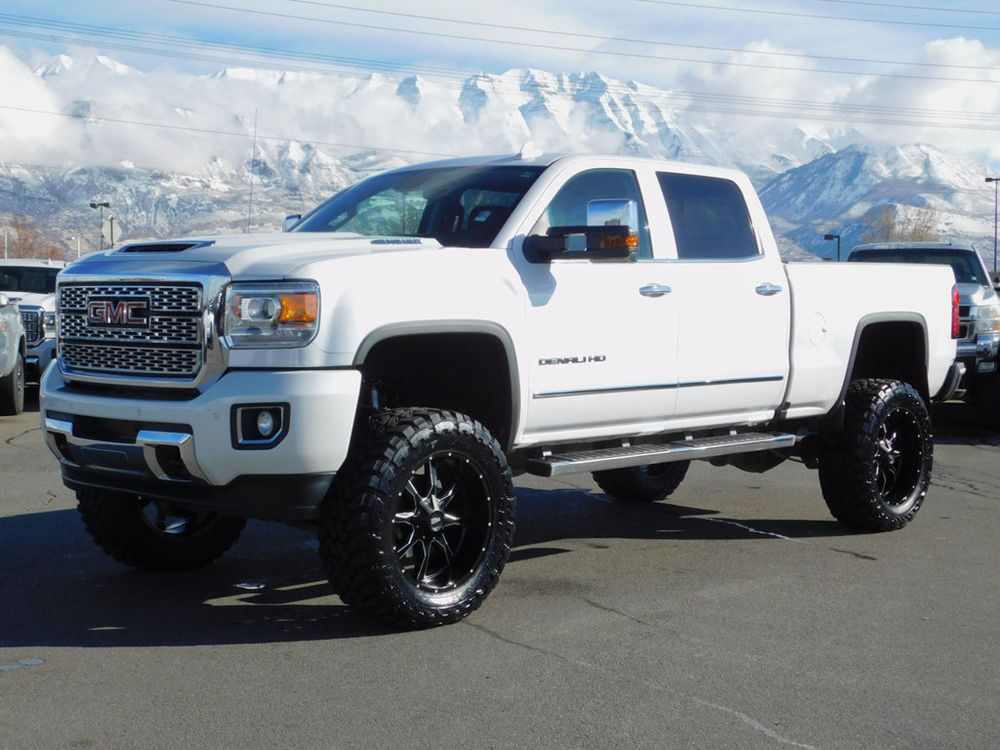 For Sale 2018 Gmc Sierra 1500 Denali Lifted Gmc Crew Cab Denali
