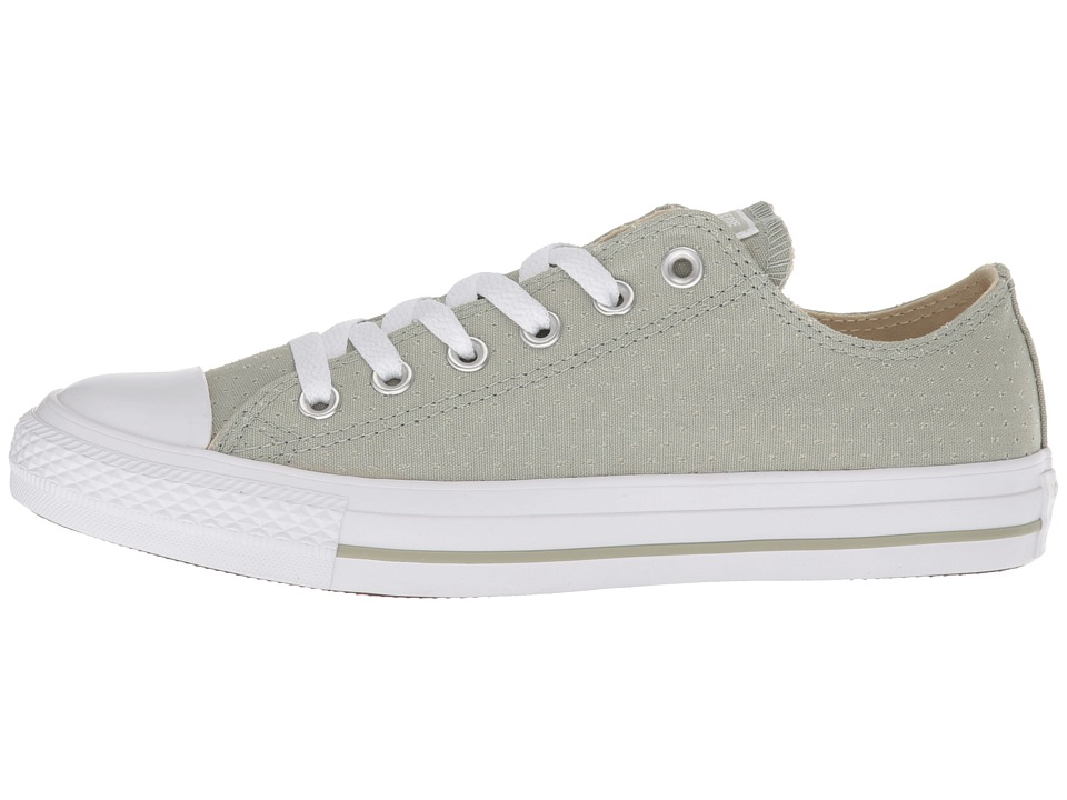 06a47e0be352 Converse Chuck Taylor(r) All Star(r) Ox - Perf Canvas Women s Classic Shoes  Surplus Sage White White