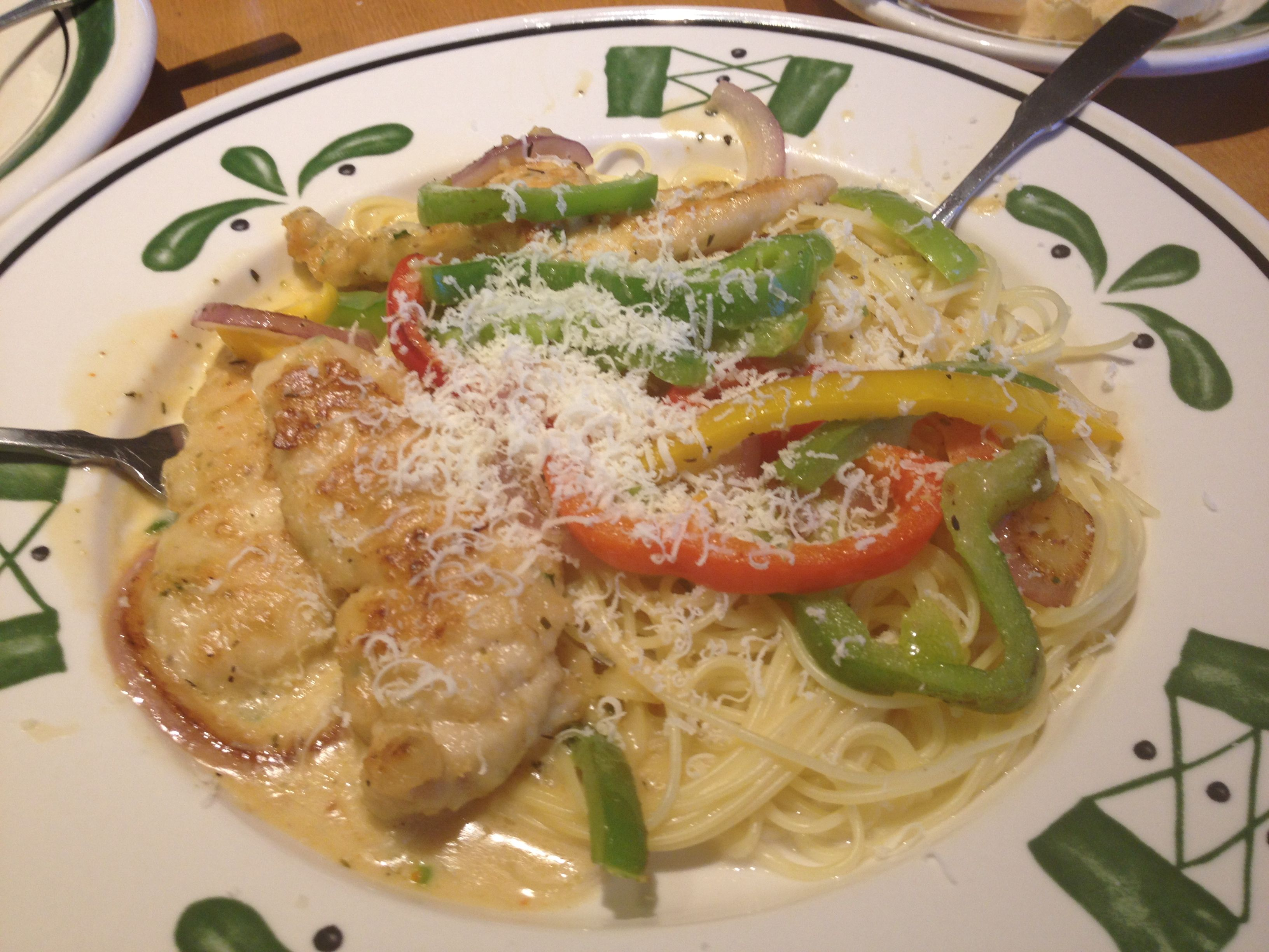 Chicken scampi! Olive Garden! Mmm | WHAT\'S FOR DINNER | Pinterest ...