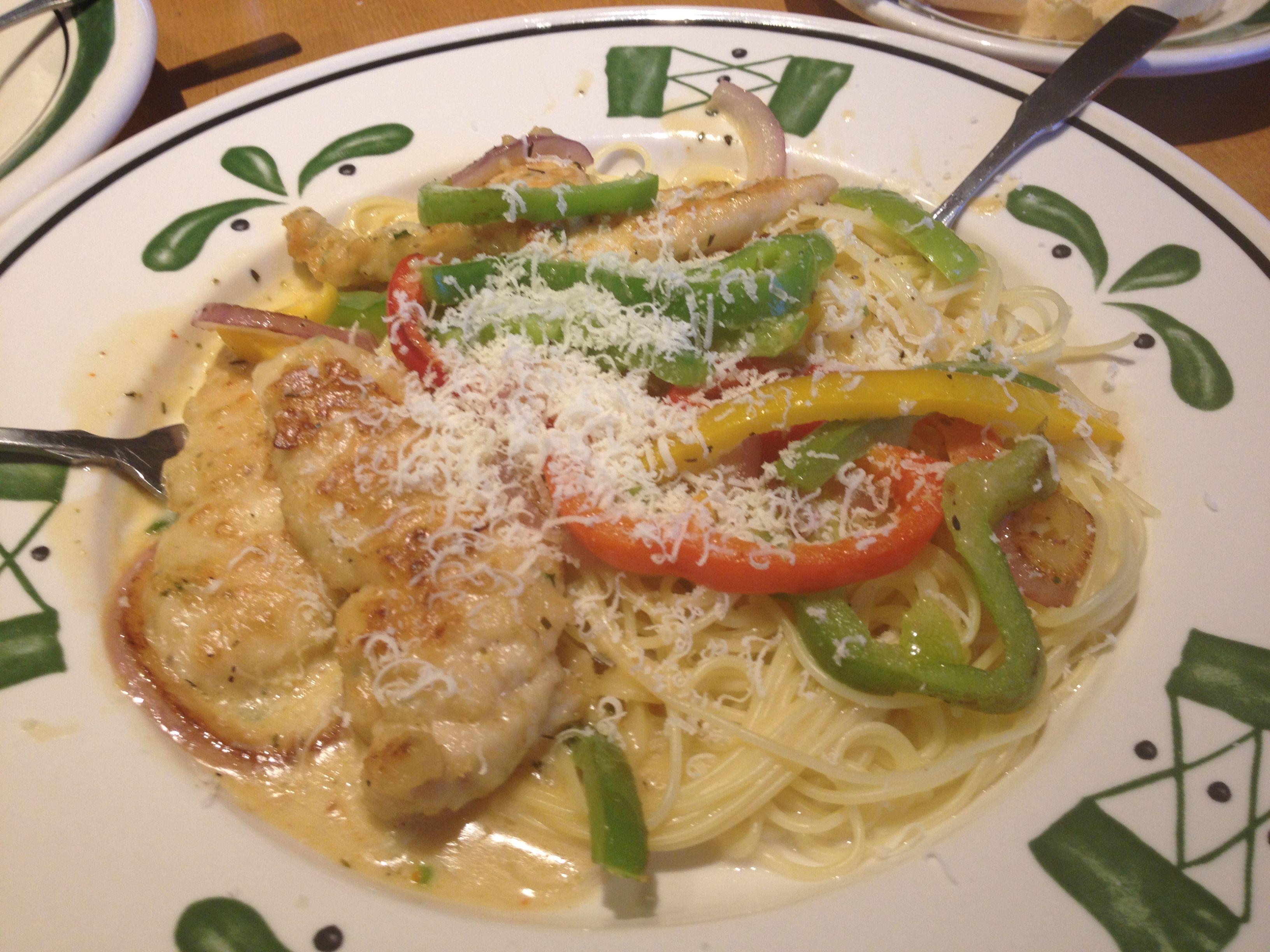 chicken scampi olive garden mmm what s for dinner pinterest