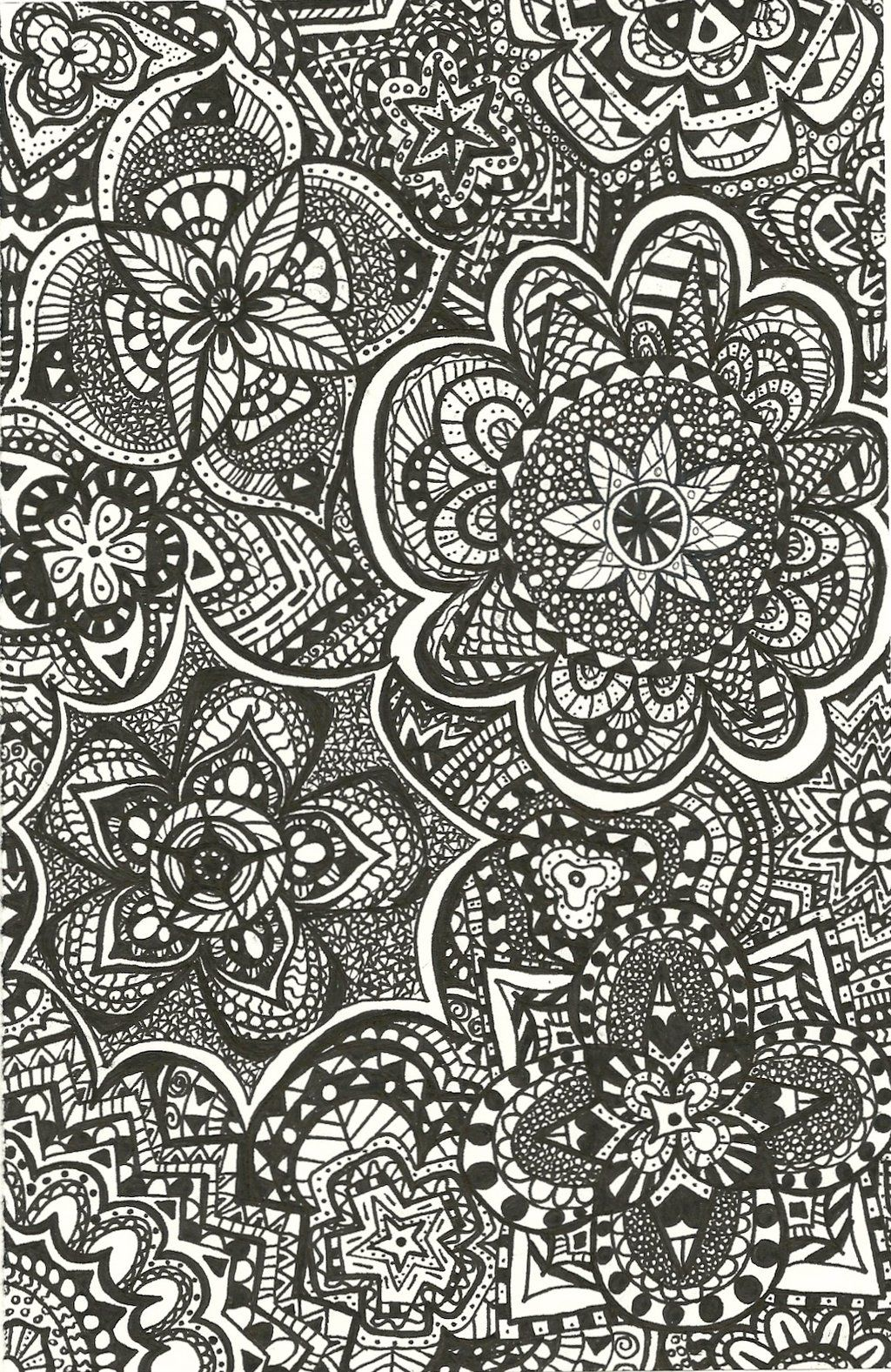 Tumblr Backgrounds Patterns Black And White Buscar Con