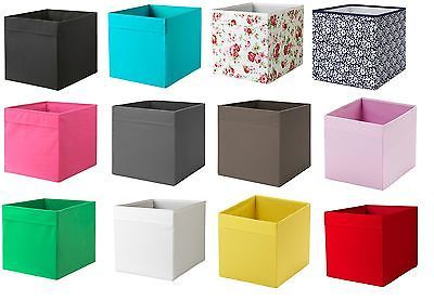 Scatole Per Scaffali.Dettagli Su Ikea Drona Scatola Expedit Magazine Scatole