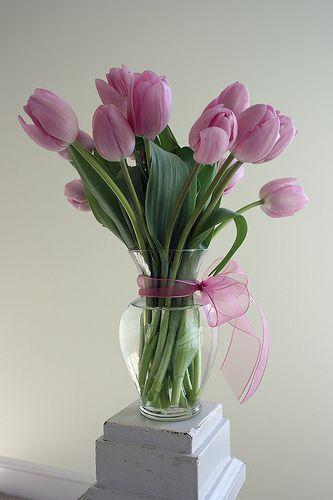 cheap tulip wedding centerpieces