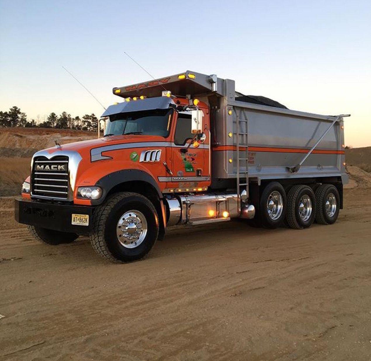 Mack Dump... Dump trucks, Dump trucks for sale, Big rig