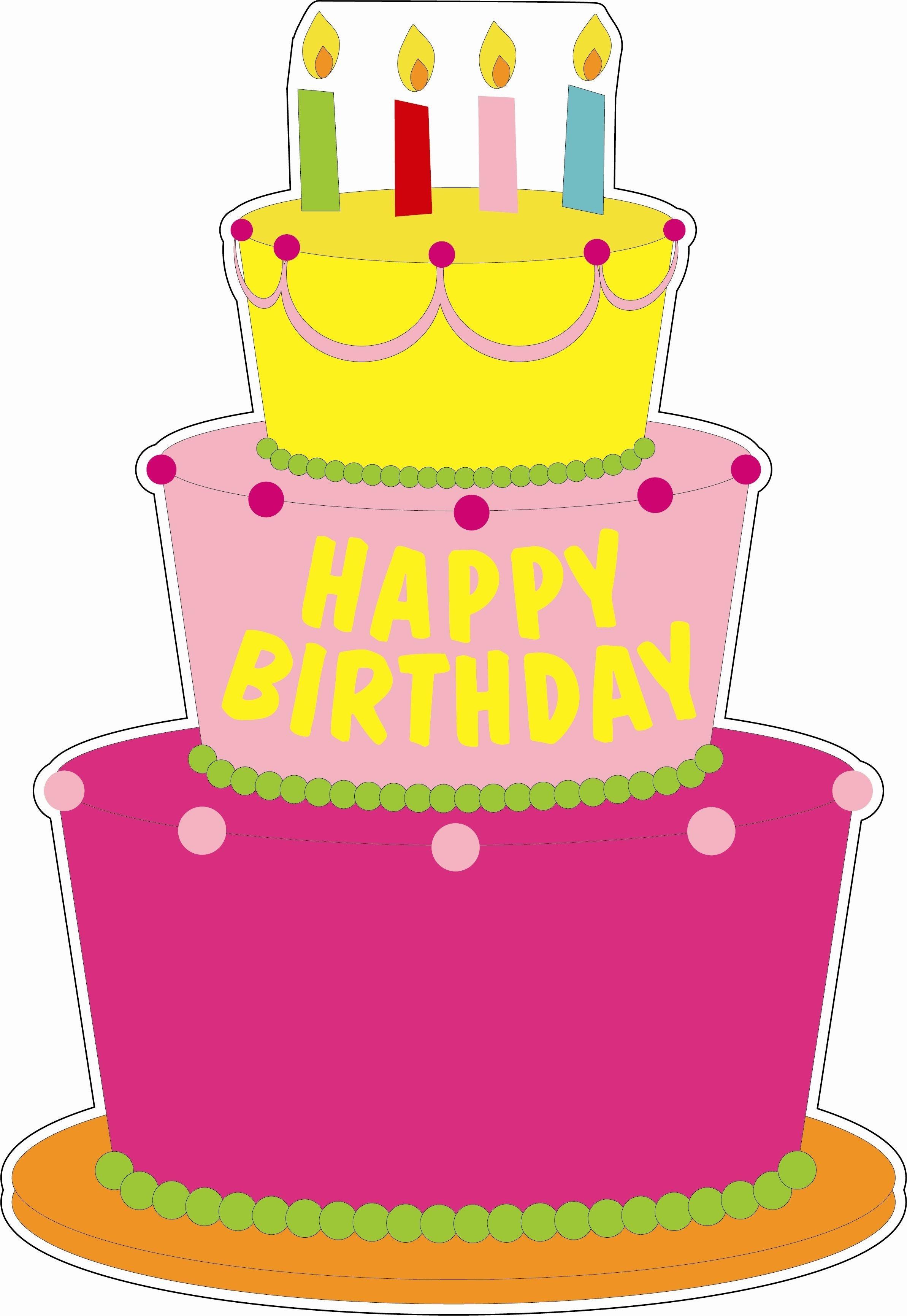 20+ Creative Picture of Birthday Cake Cartoon