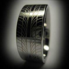 Car Guy Wedding Ring