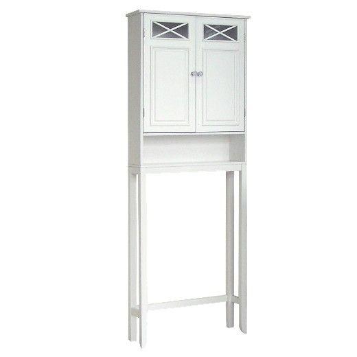 Elegant Bathroom Space Savers Over Toilet Storage Shelf: Organize Your Bath With The Elegant Home Fashions Dawson