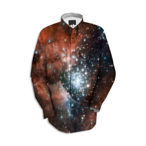 Red Galaxy Work Shirt - Available Here: http://printallover.me/products/0000000p-red-galaxy-2