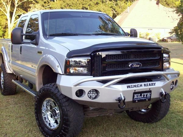 1999 2004 Ford F250 F350 Pre Runner Ii Winch Bumper Ford