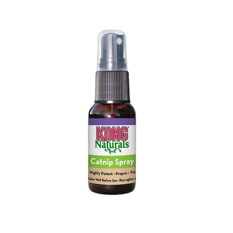 KONG Naturals Catnip Spray for Cats, 1Fluid Ounces >>> To