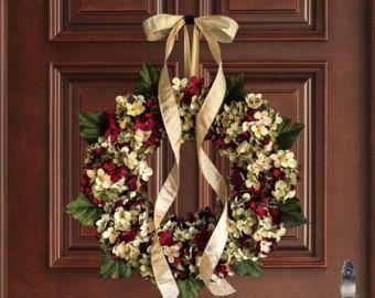 Spring Wreath Front Door Wreaths Outdoor Wreaths Wreaths
